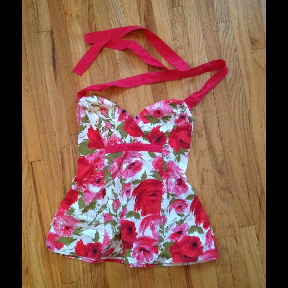 50 off anthropologie tops anthropologie halter apron for Anthropologie cuisine couture apron