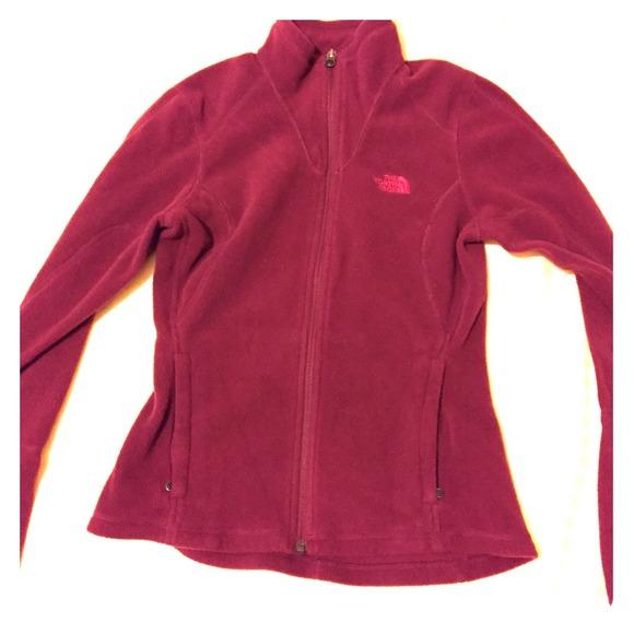 Burgundy Flight Jacket