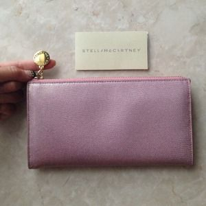 Stella McCartney Clutches & Wallets - 🎉HP🎉✨ Stella McCartney Pink/Gold Shimmer Wallet✨
