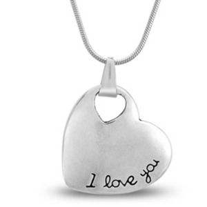 Jewelry - 🆕I Love You ❤️ necklace pendant 18""