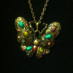 Jewelry - Long Butterfly Necklace