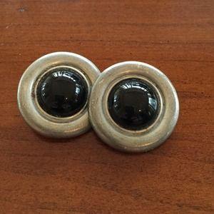 Ben-Amun Jewelry - Vintage Ben Amun clip on earrings.