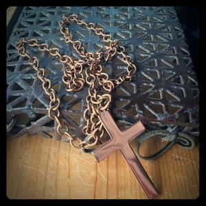 Jewelry - Vintage copper crucifix