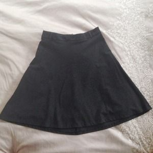 Zara Dresses & Skirts - Flash Sale! H&M Black A-Line Skirt
