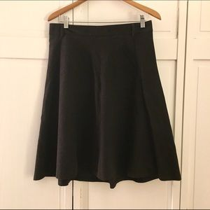 Zara Dresses & Skirts - FINAL! Zara Black A-Line Skirt