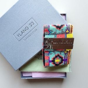 Hipanema  |  beaded cuff