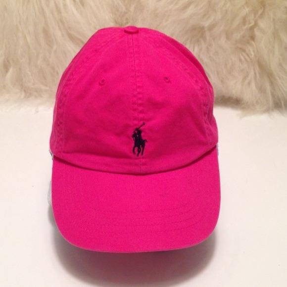0c08c89d1 Polo Ralph Lauren Hot pink Hat one size. M 5478ddc7e9895575ca1006b3