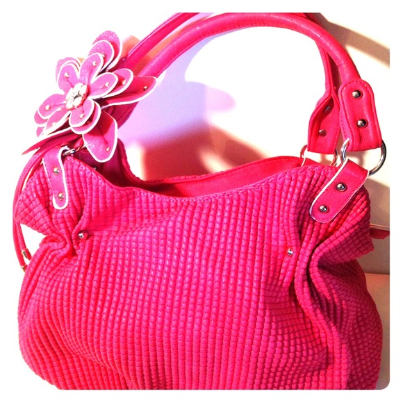 Tosca Bags Brand New Bright Carnation Pink Purse Poshmark