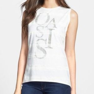 Two by Vince Camuto Oasis Cotton Top