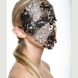 Masquerade Lace cut mask