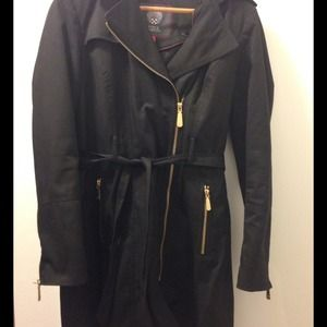Vince Camuto coat with detachable hood