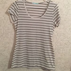 Gently loved Maurices nautical style top