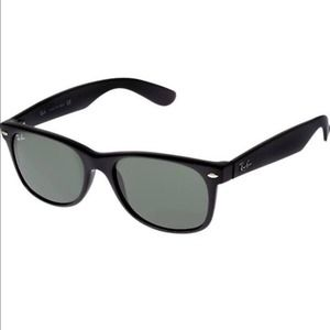 Ray-Ban 52mm Black Wayfarer Square Sunglasses
