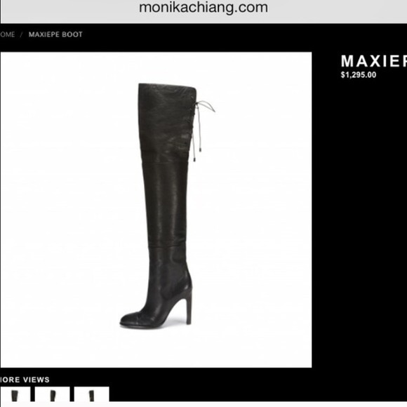 Monika Chiang Shoes - BRAND NEW MONIKA CHIANG MAXIEPE OTK BOOT