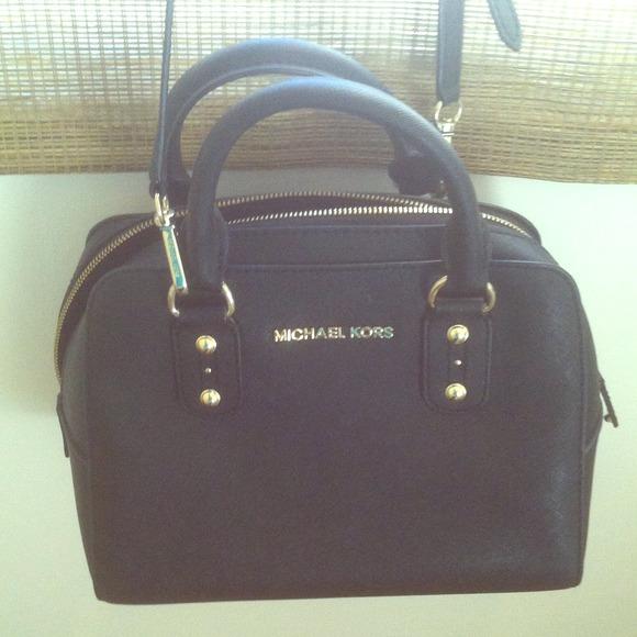 48% off Michael Kors Handbags - USED Michael Kors Signature Small ...
