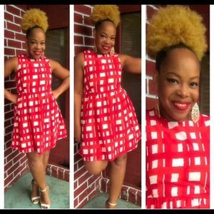 Dresses & Skirts - Red n white dress