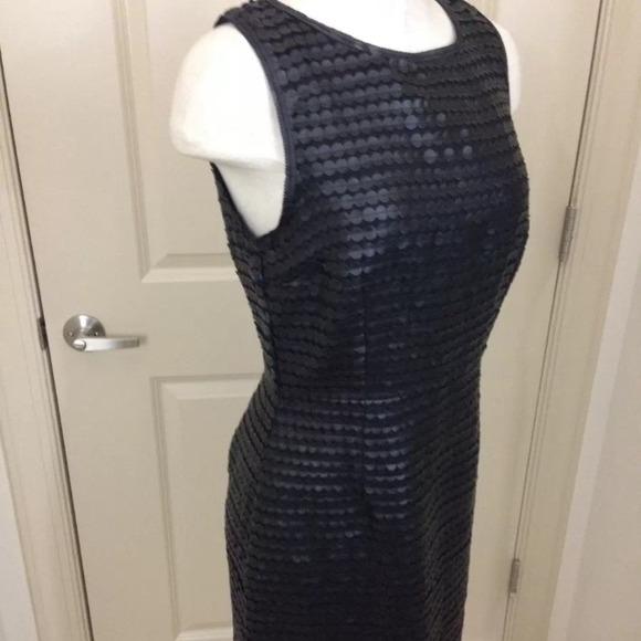 BB Dakota Dresses - BB DAKOTA faux leather palette pencil dress