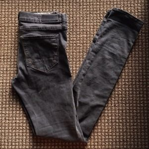 All Saints Denim - AllSaints skinny grey jeans