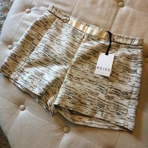 Reiss Pants - 🎉HPx3!🎉 NWT Reiss Cream & Metallic Shorts