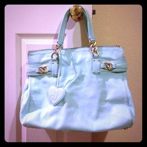Authentic large juicy couture leather bag