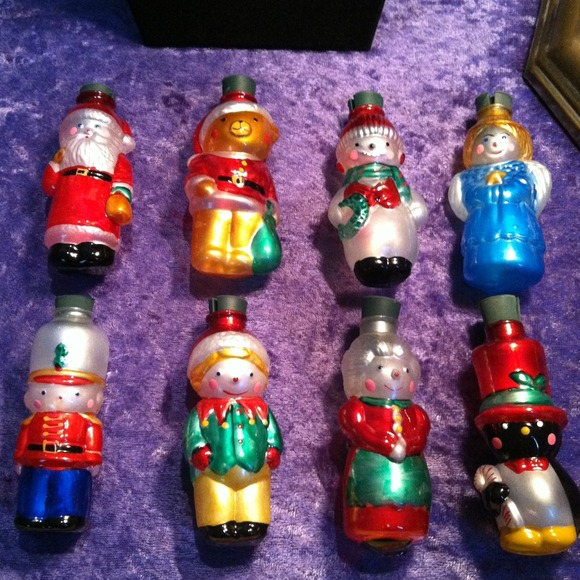 sale vintage avon christmas light covers