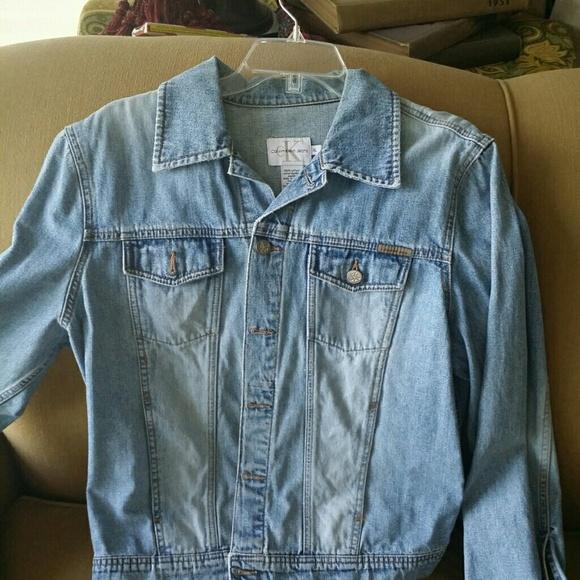 88% off Calvin Klein Denim - Vintage Calvin Klein Denim Jacket ...