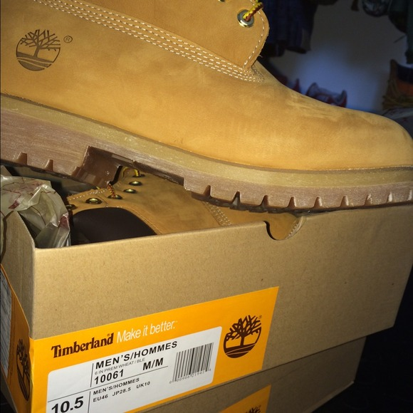 Timberland boots men size 10.5 NWT