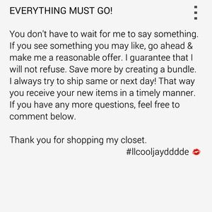 Make Offers!!!!! 😊