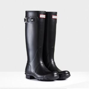 Black Original Tall Hunter Rain Boots