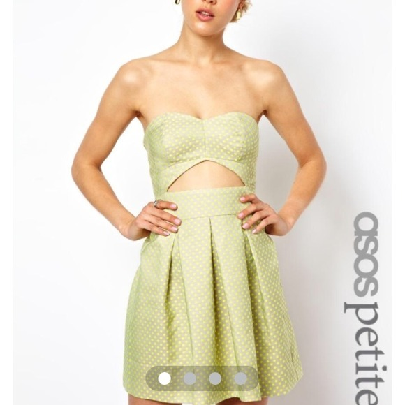 ASOS Dresses - ASOS NEON DOT DRESS | size 6P