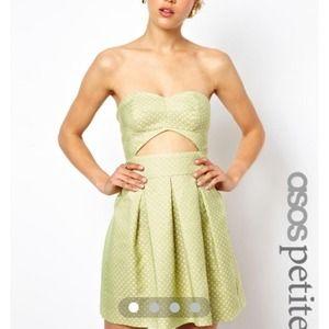 ASOS Dresses - ASOS NEON DOT DRESS | size 6P