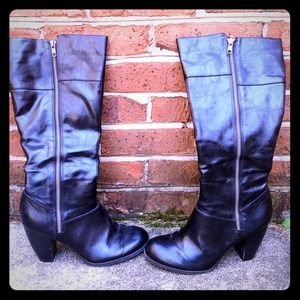 American Eagle by Payless Shoes - American Eagle Black Zip Up Boots