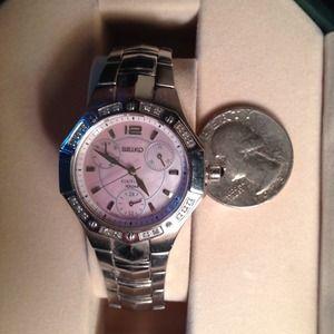 Seiko Jewelry - Seiko Kinetic Watch