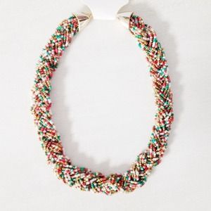 | new | multicolor beaded necklace