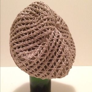 Eugenia Kim Accessories - NWOT. Beret with crochet detailing by Eugenia Kim.