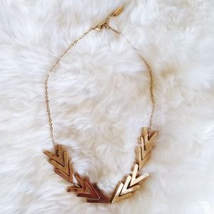 Jewelmint Gilded Points necklace