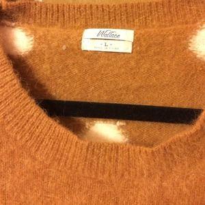 Madewell Sweaters - Madewell mohair polka dot seater