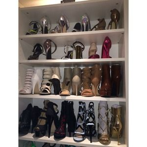 Welcome to my shoe closet!