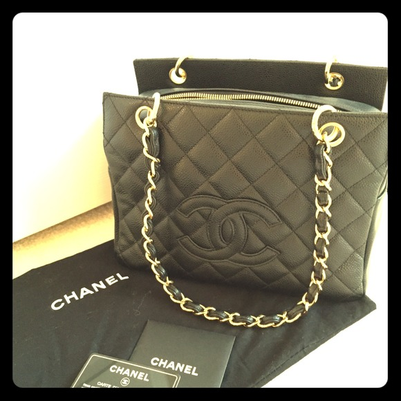 270d58ab6b22 CHANEL Bags   Sold Quilted Petite Timeless Tote   Poshmark