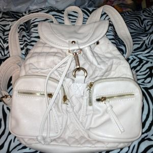 Charlotte Russe powdered pink backpack
