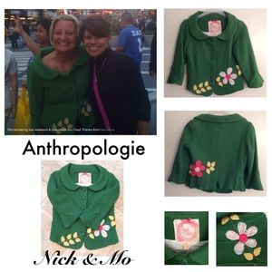 Anthropologie Blazer by Nick & Mo Size M