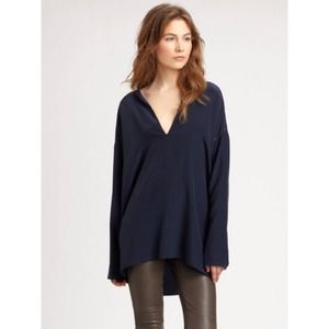 ⚡Vince Silk Coastal Blue Tunic