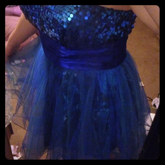 Strapless Dance Dresses