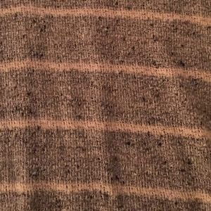 71% off Gibson Sweaters - Gibson Gray and Beige Striped V-Neck Sweater