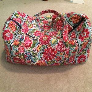 Vera Bradley Handbags - Hope Garden Large Duffle