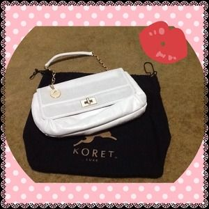 Koret Handbags - 💥SALE 🆕 Genuine soft leather white handbag