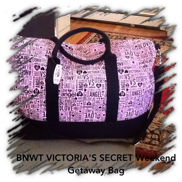 58% off Victoria's Secret Other - BNWT Victoria's Secret weekend ...