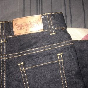 Authentic Burberry Jeans.