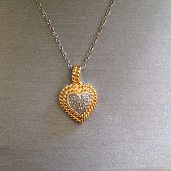63 off zales jewelry zales heart necklace from martha for Where is zales jewelry