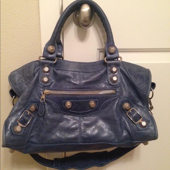 a736b1b2aca Balenciaga Bags | Part Time Bag Ghw In Ocean | Poshmark